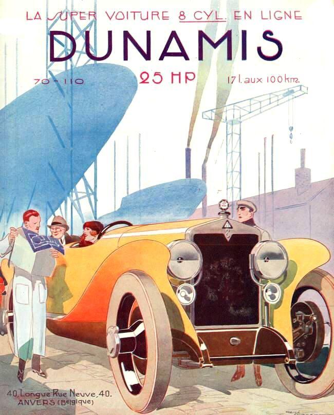 Press advertisements by René Vincent - Automobilia No. 144 of May 15, 1923