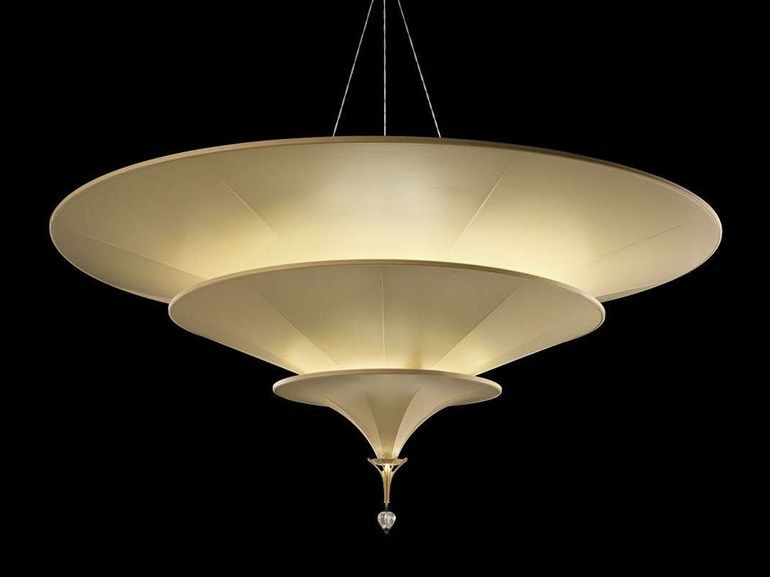 Silk Pendant Lamp Icaro Silk Lamps Collection By Fortuny