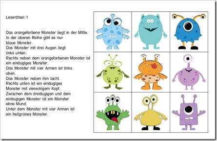 pin von d r barbara auf sensomotorik monster schule deutsch unterricht und deutsch lesen. Black Bedroom Furniture Sets. Home Design Ideas
