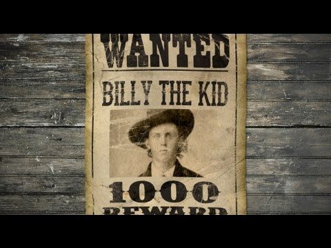 1000 images about Wild West – Wanted Sign Font