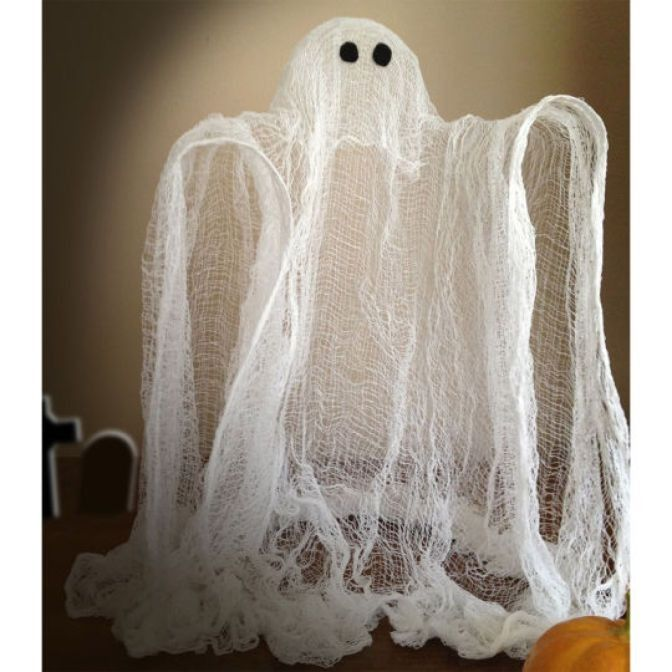 Funny cheesecloth Halloween ghost decoration that you should have at