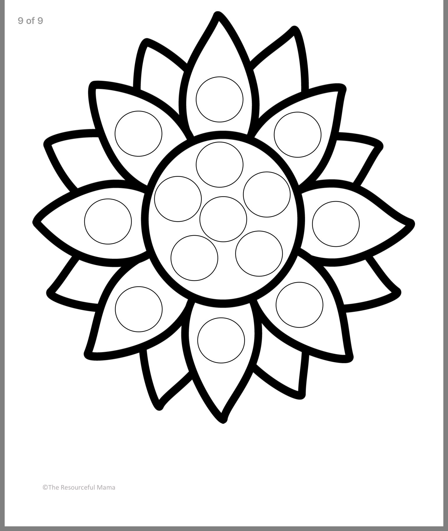 Dot Markers Image By Christine Lacroix On For The Kiddos