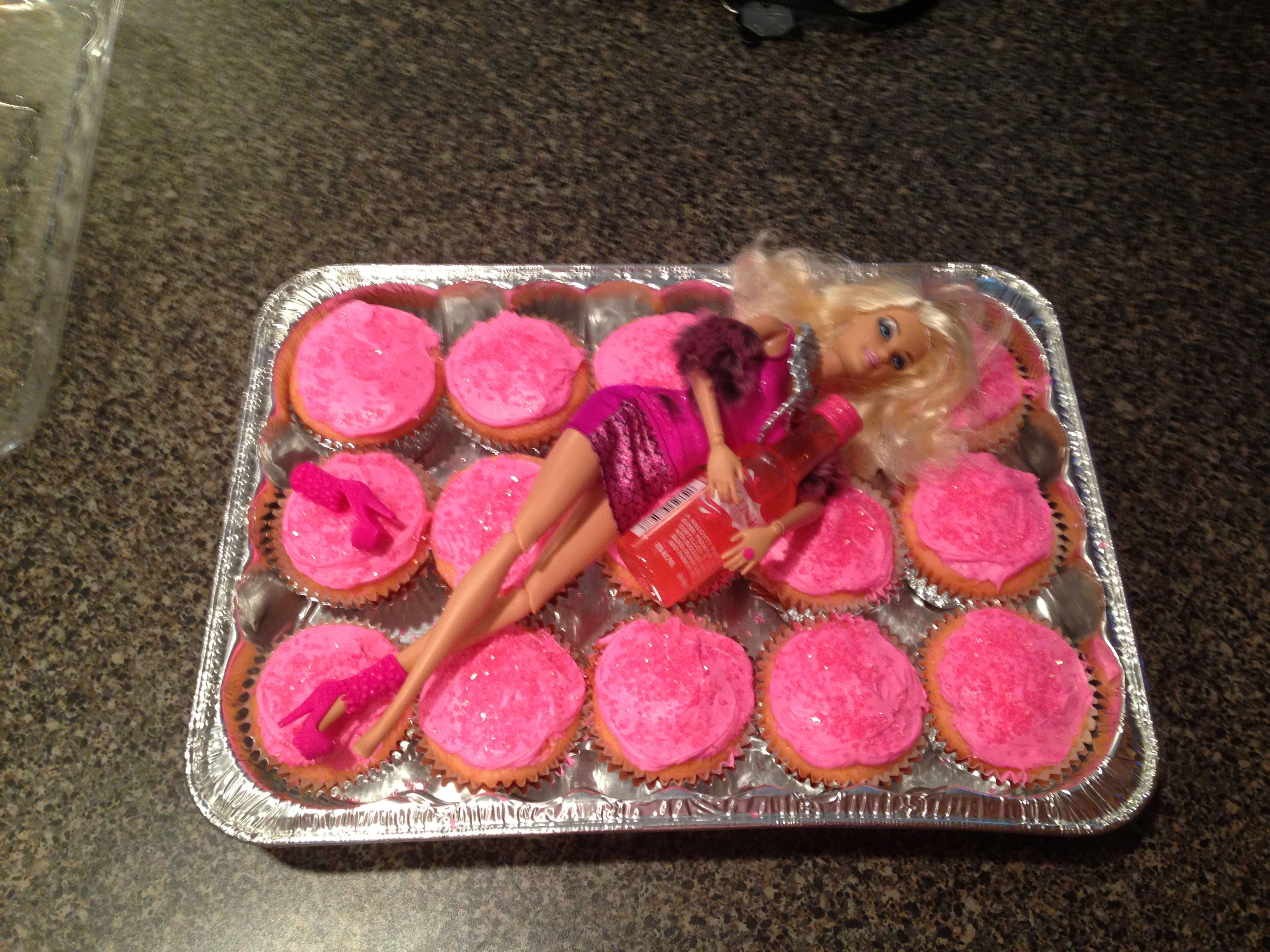 Barbie Bachelorette cake!