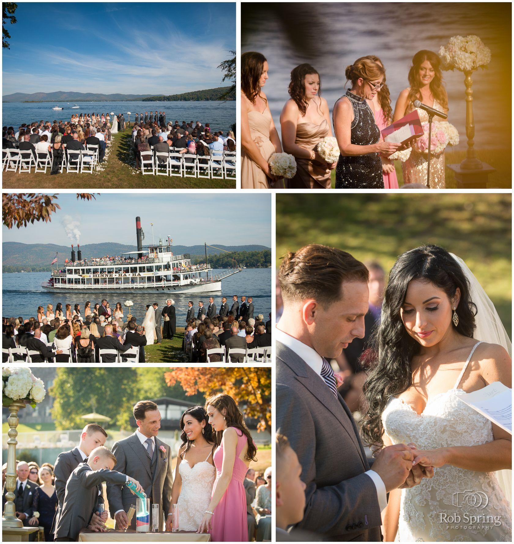 Rachel & Seamus' Inn at Erlowest Wedding Lake NY