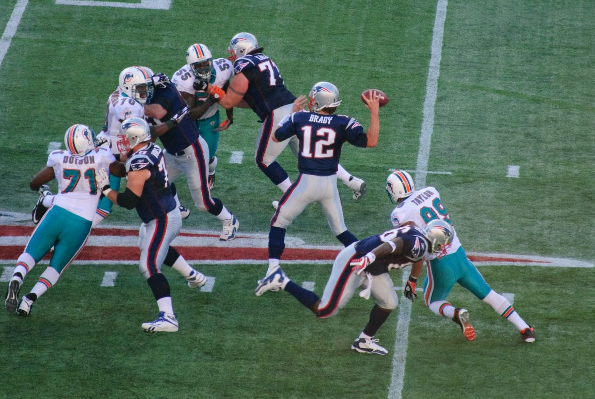 Patriots Cover Dolphins with a Protective 180 New