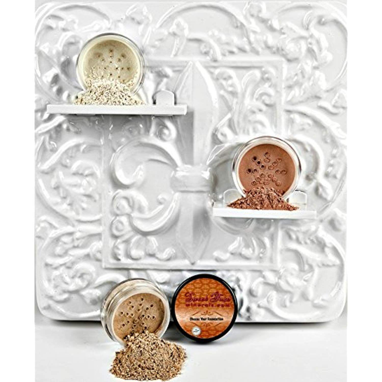 Sweet Face Minerals 3 Pc Kit Mineral Makeup Set Bare Skin