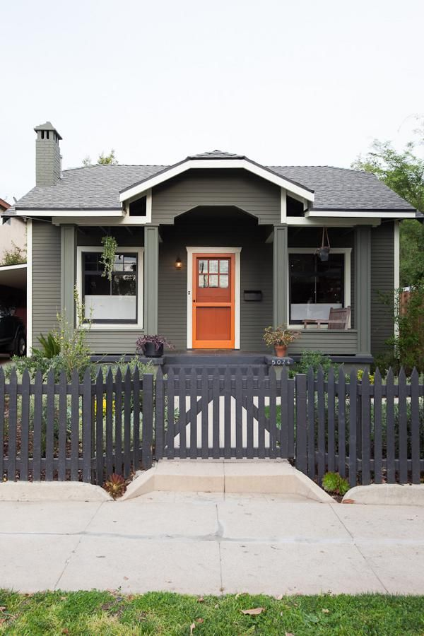 Modern And Stylish Exterior Design Ideas Orange House Exterior