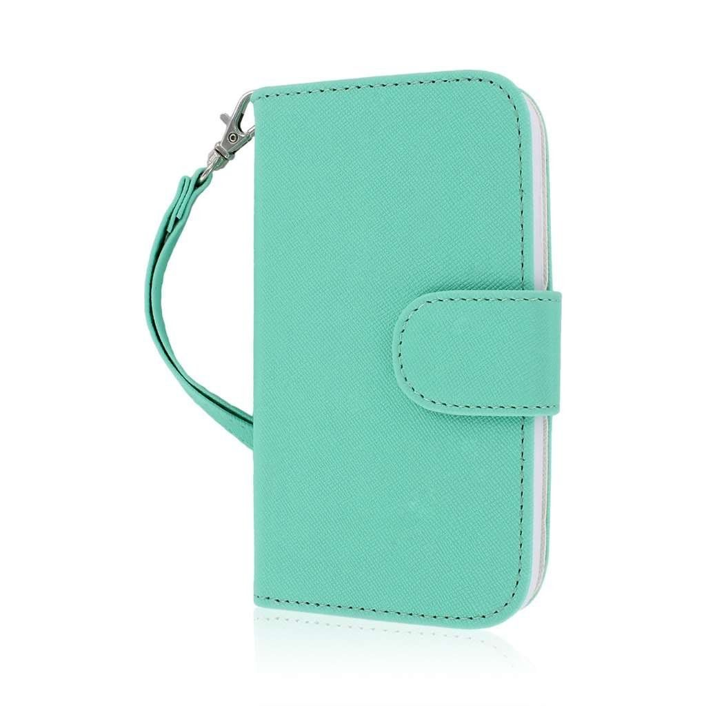 the best attitude ebdad 159c0 Amazon.com: MPERO FLEX FLIP Wallet Case for Motorola Moto G - Mint ...
