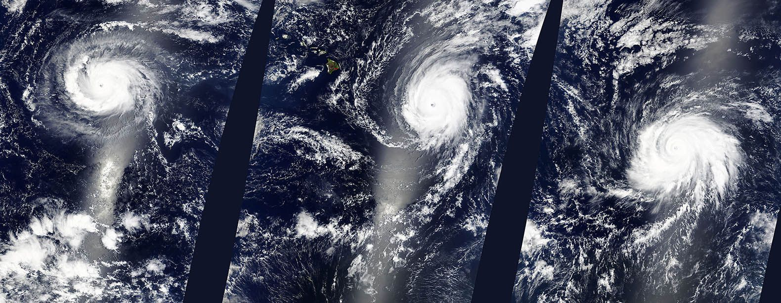 Three Category 4 Hurricanes Developed In The Pacific Simultaneously For The First Time In Recorded History Pacific Ocean Hurricane Weather Patterns
