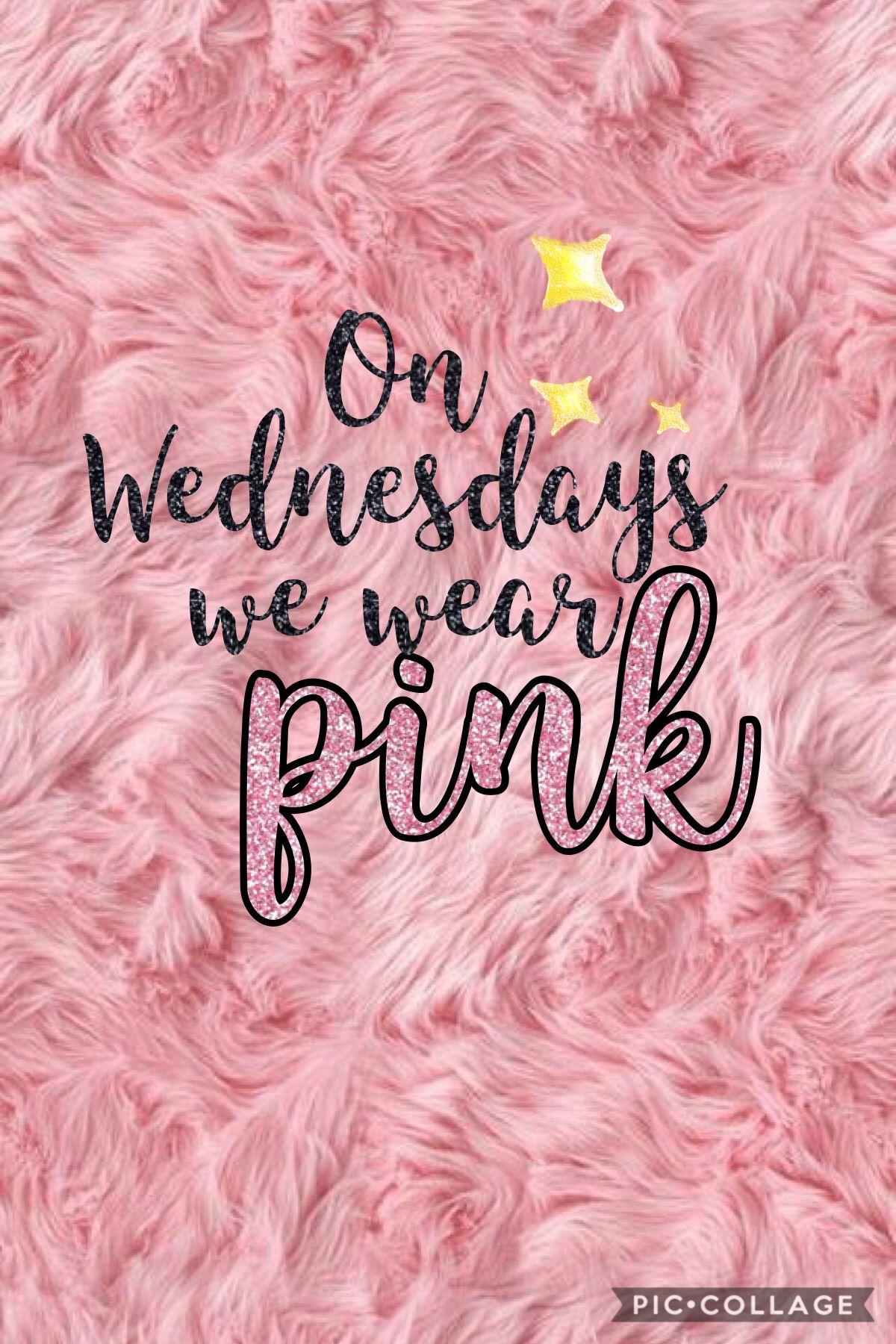 On Wednesdays We Wear Pink Mean Girls Wallpaper
