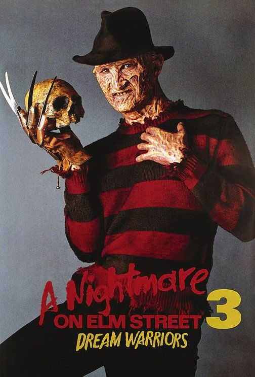 A Nightmare On Elm Street 3 Dream Warriors Promo Poster