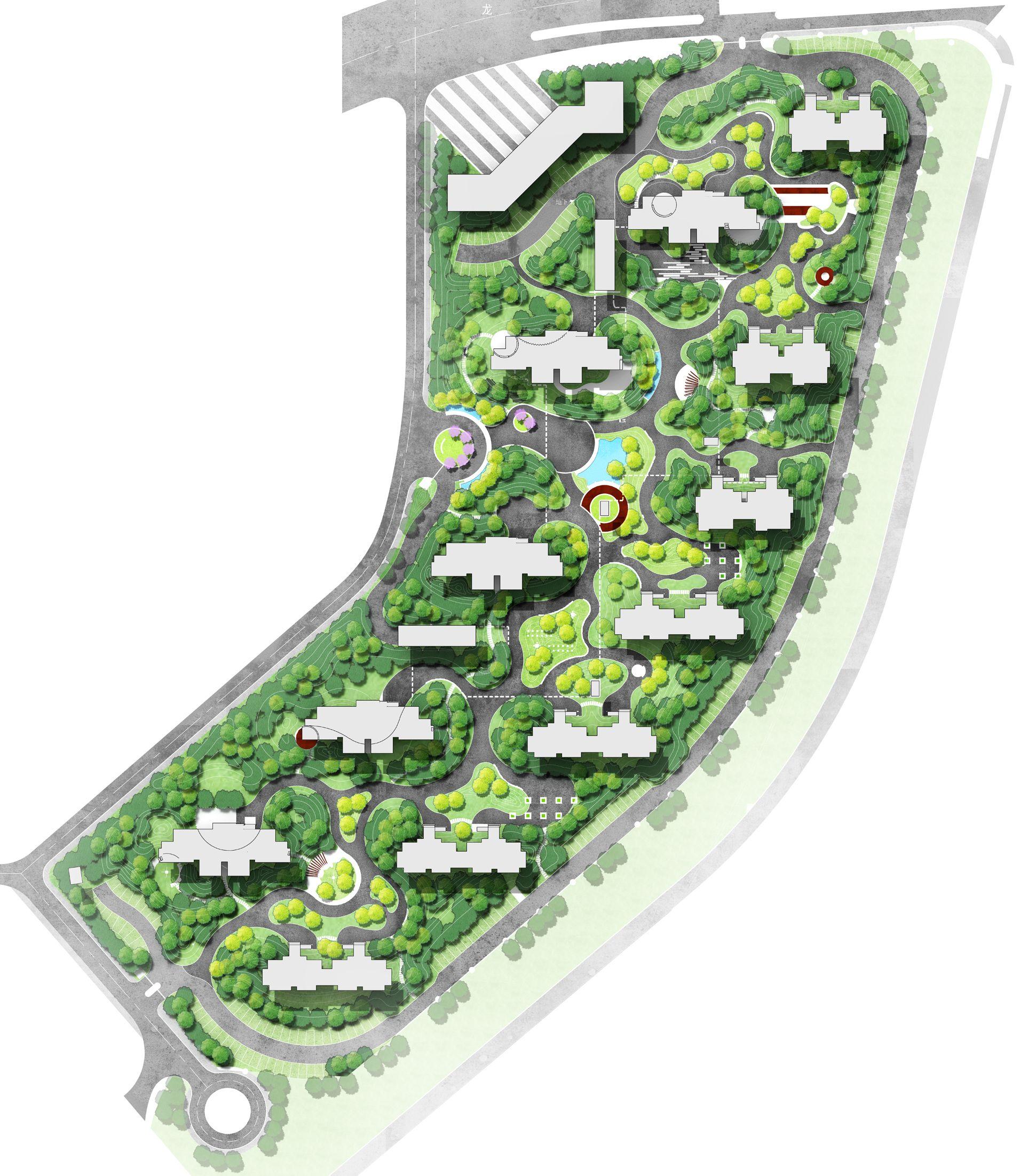 Pin By Eleven On Masterplan Urban Planning Master Plan Landscape