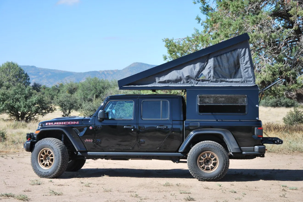 All In One At Summit Habitat Camper For Jeep Gladiator Is Built To