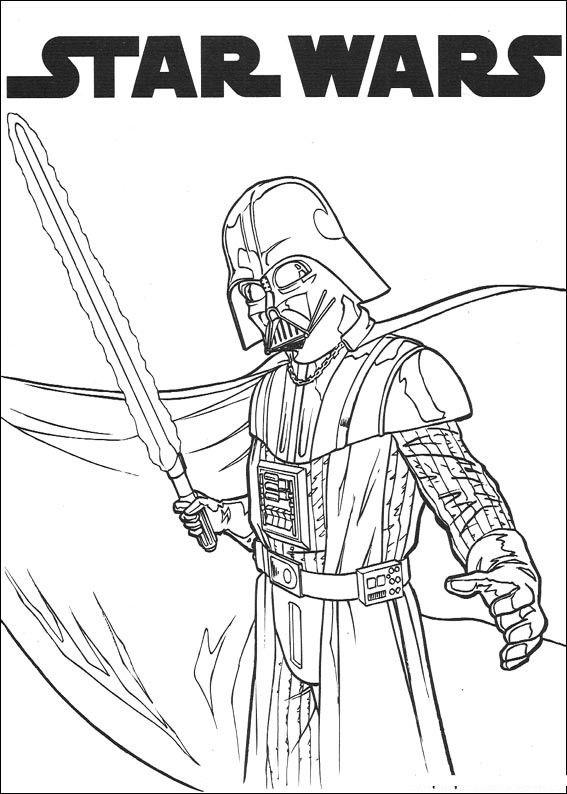 Kolorowanki Star Wars Gwiezdne Wojny Fd Kolorowanki