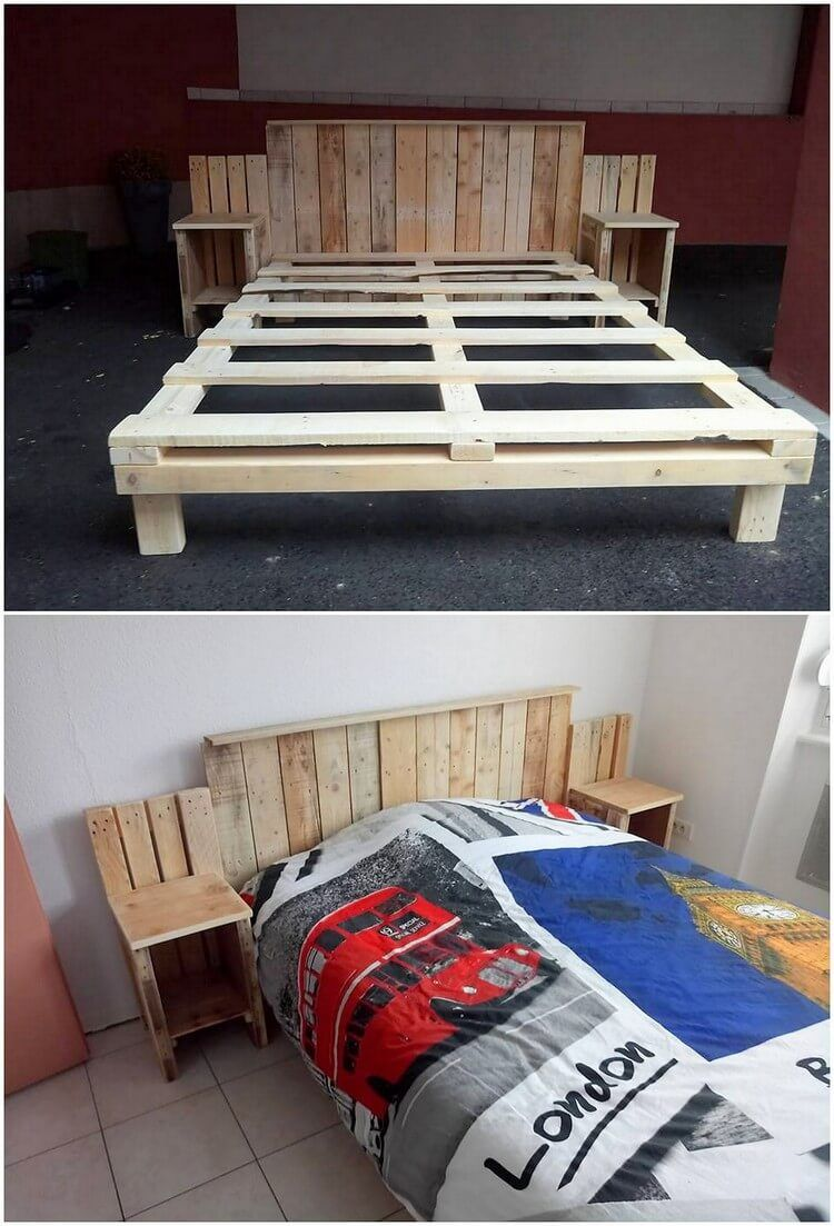 Awesome DIY Projects With Old Shipping Wooden Pallets