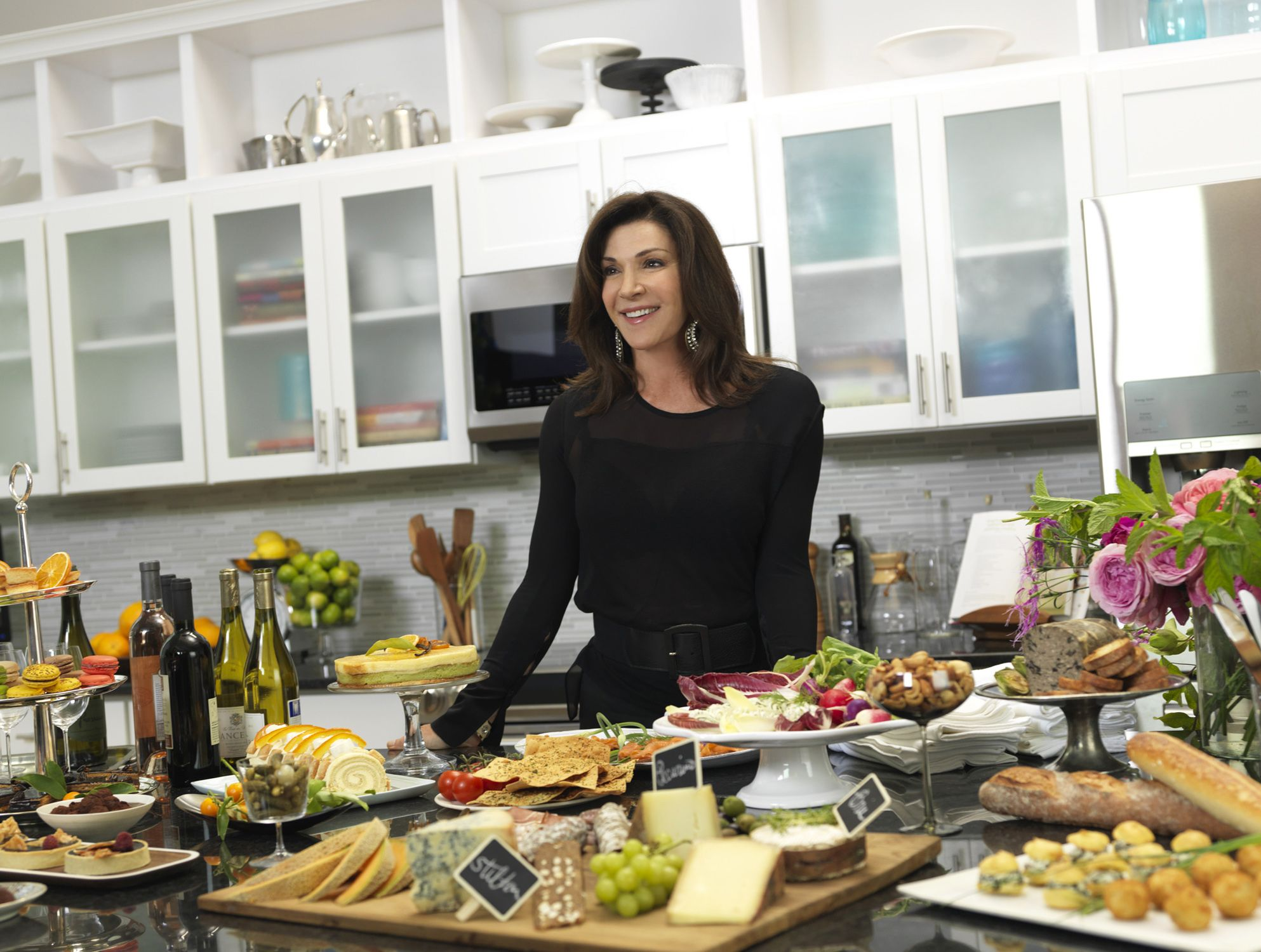 HGTV Star Hilary Farr Gives Advice On How To Host And Design A Kitchen.