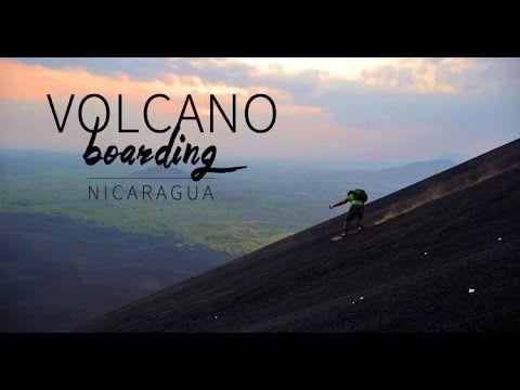 Video Vulkan-Surfen in Nicaragua : Ein heisser Ritt auf dem Feuerberg | traveLink