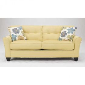 Kylee Goldenrod Sofa  Love The Color From American Furniture Warehouse Www. AFWonline.com