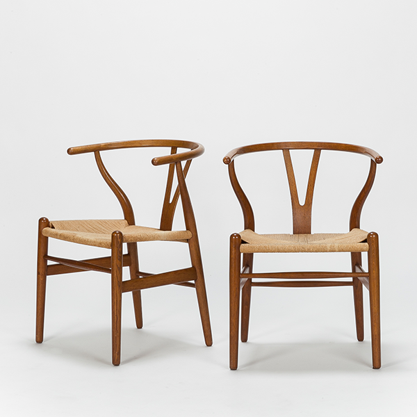 Bon Hans Wegner Wishbone Chairs CH24 Design Danois, Meuble Tendance,  Scandinave, Bord, Menuiserie