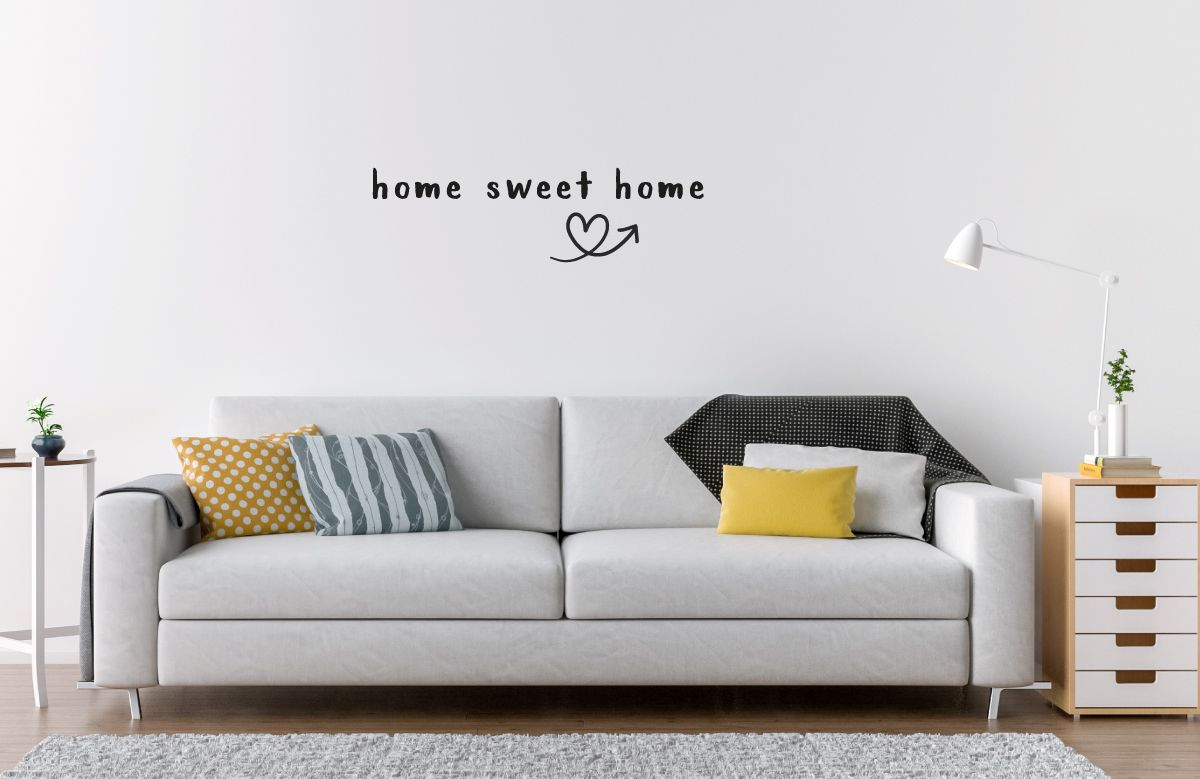 "Fabelhaft Wandtattoo Home Sweet Home Dekoration Von ""home Home"" Wandaufkleber, Zitat / Spruch Wandtattoo,"