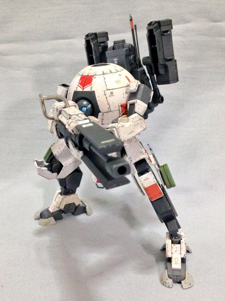 GUNDAM GUY: TITANBALL - Custom Build