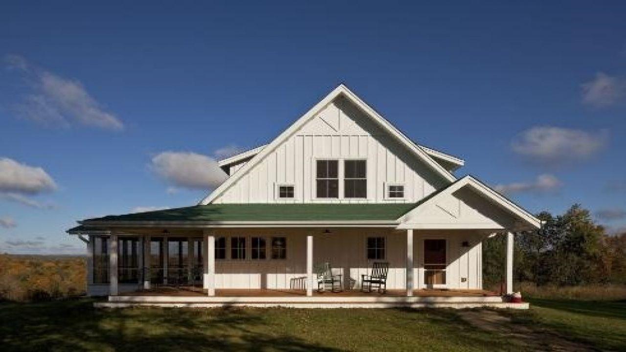 51 Popular Ideas Farmhouse Plans 1 Story In 2020 Small Farmhouse Plans Metal Building Homes House Exterior