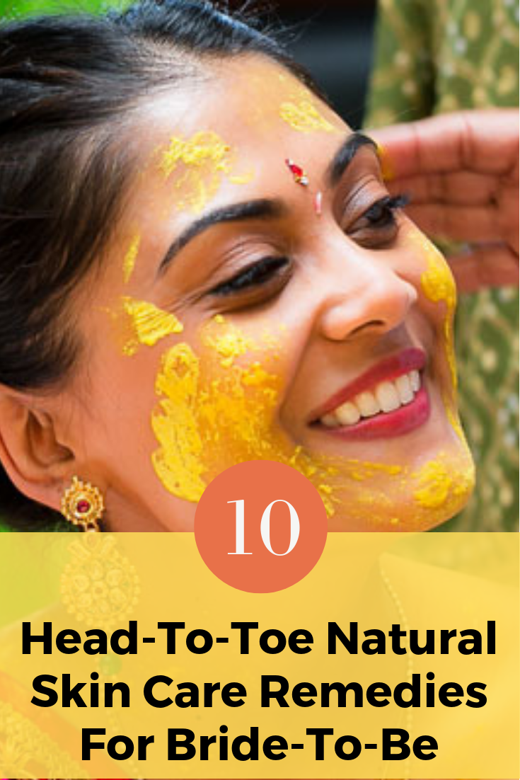 9 Head-To-Toe Bridal Natural Skin Care Remedies #skin_care