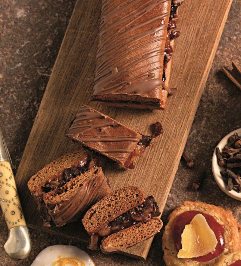 Gefullte Lebkuchenschnitte Mit Bildern Platzchen Backen Rezepte Rezepte Lebkuchen
