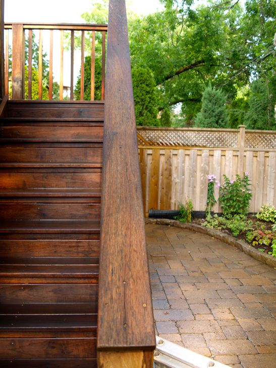 This Is The Color I Want The Ugly White Deck Benjamin Moore Arbourcoat Stain Garden