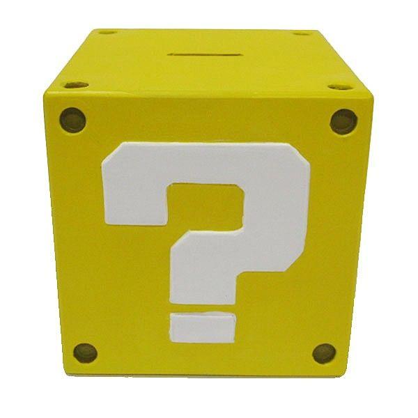 Nintendo Spørsmåltegn Sparebøsse Med Lyd