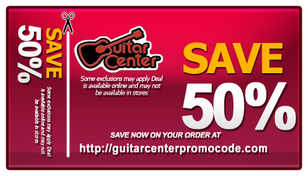 guitar center printable coupons
