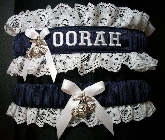 US Marine set with OORAH embroidered on it and by CreativeGarters, $28.00