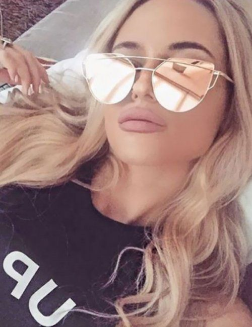 5eff9259f5f8 Women s Vintage Cat Eye Designer Mirror Sunglasses ღ Stylish outfit ideas  for women who follow fashion.