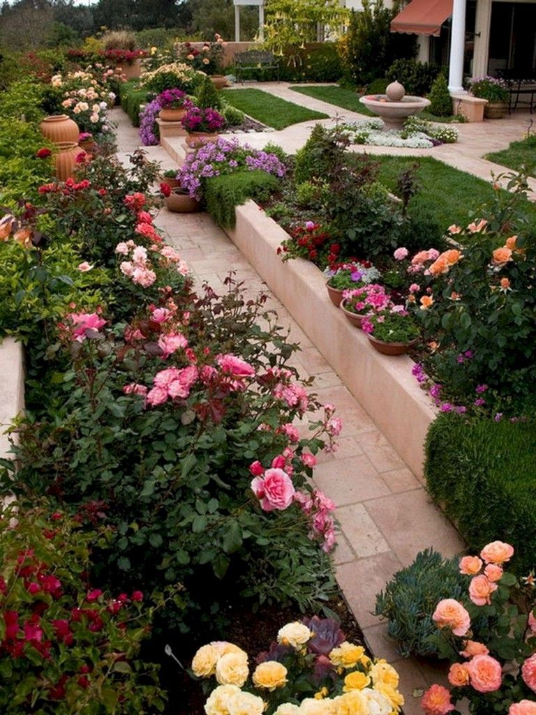 42 Cool Small Flower Gardens And Plants Ideas Small Flower