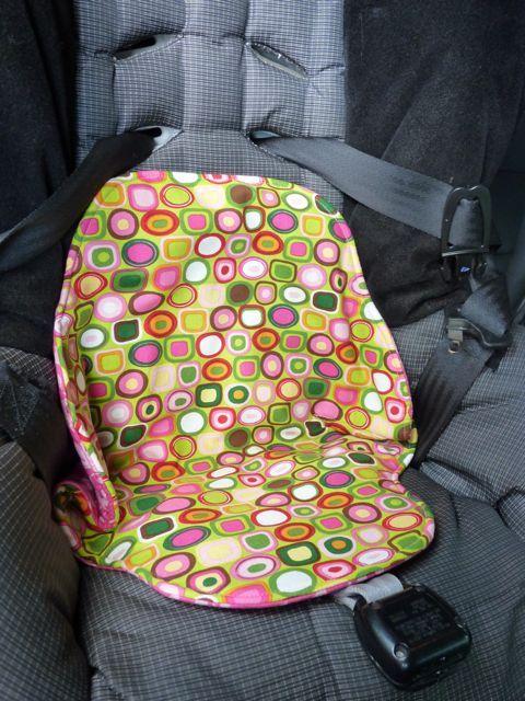 Sewplicity: Tutorial: Potty Training Seat Saver