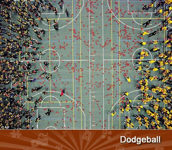 If you can dodge 1,250 wrenches, you can dodge 1,250 balls