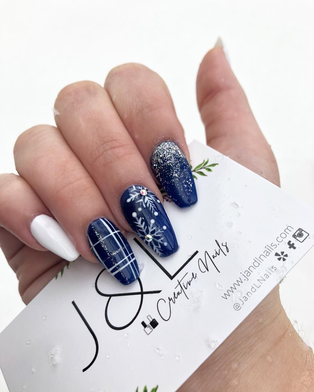 J And L Nails : nails, Christmas, Winter, Nails, Acrylic,, Colors, Winter,