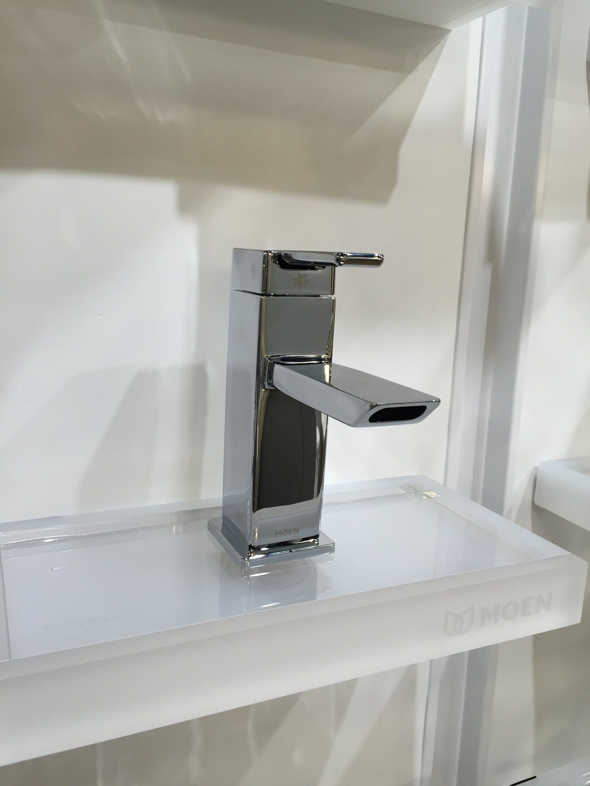 Peter thinks Moen is cheap, but like the idea of this faucet ...