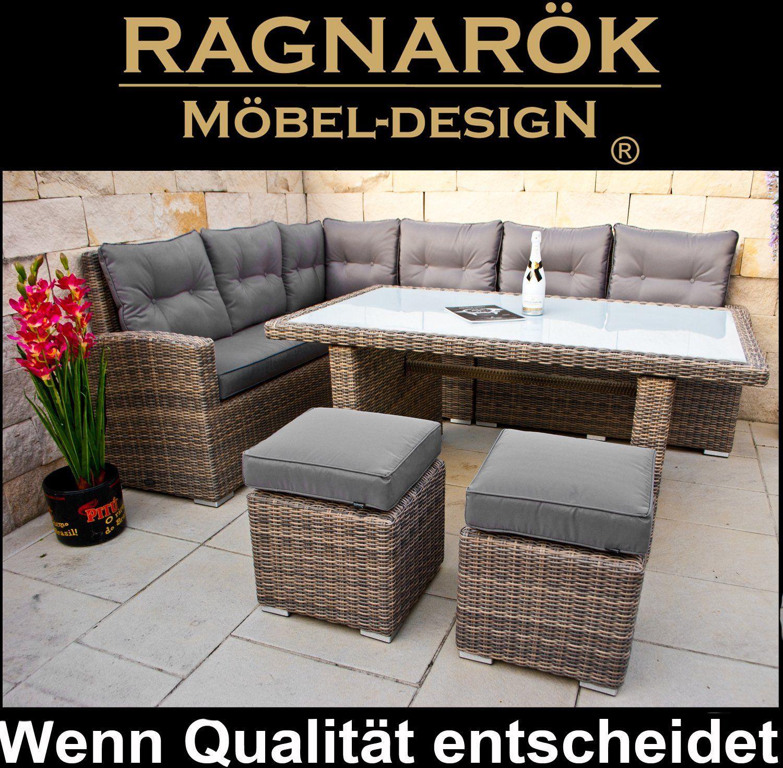Polyrattan Ecklounge Deutsche Marke Eignene Produktion 8 Jahre Garantie Auf Uv Bestandigkeit Gartenmobel Essgru Gartenmobel Lounge Mobel Gartenmobel Sets