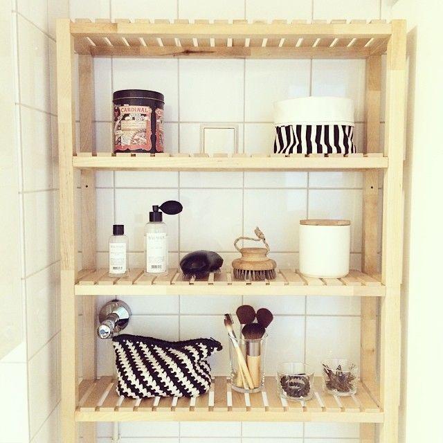 My Bathroom Ikea Molger Shelf Home Goods Shelves Ikea