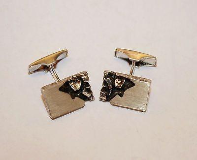 Kalevi Sara, vintage modernist sterling silver #cufflinks. #Finland