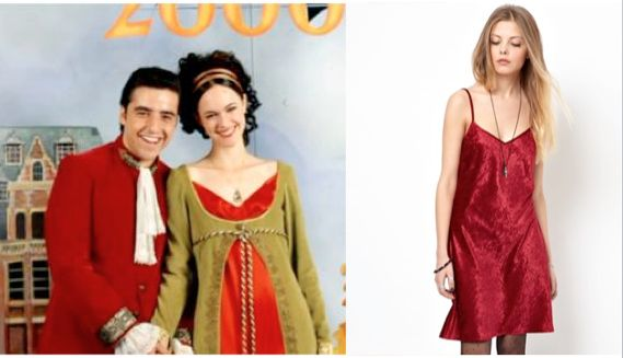 10 Things I Hate About You Fashion: Mandella's Shakespearean Prom Dress