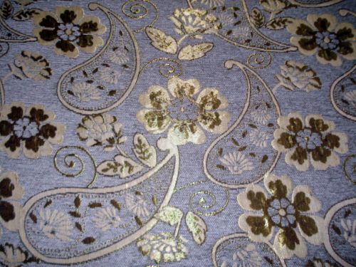 details zu polsterstoff m belstoff stoff barock antik neu jaquard chenille webstoff braun. Black Bedroom Furniture Sets. Home Design Ideas