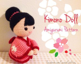 Amigurumi Doll Anime : Umbrella amigurumi etsy