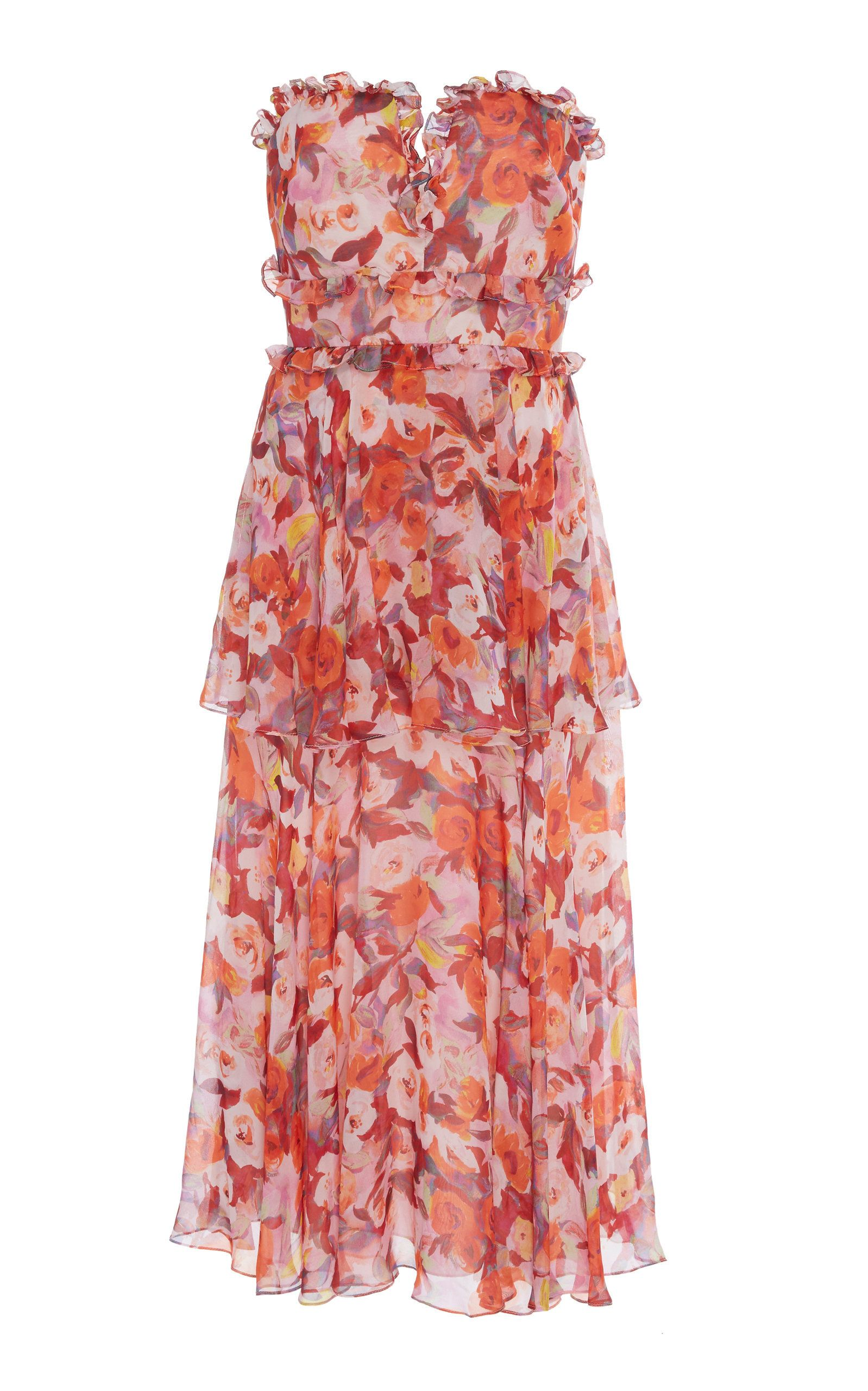 3c34525223 Click product to zoom Silk Floral Dress