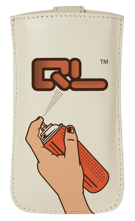 QL Spray Can Leather Phone Case (available for iPhone 4/4S ...
