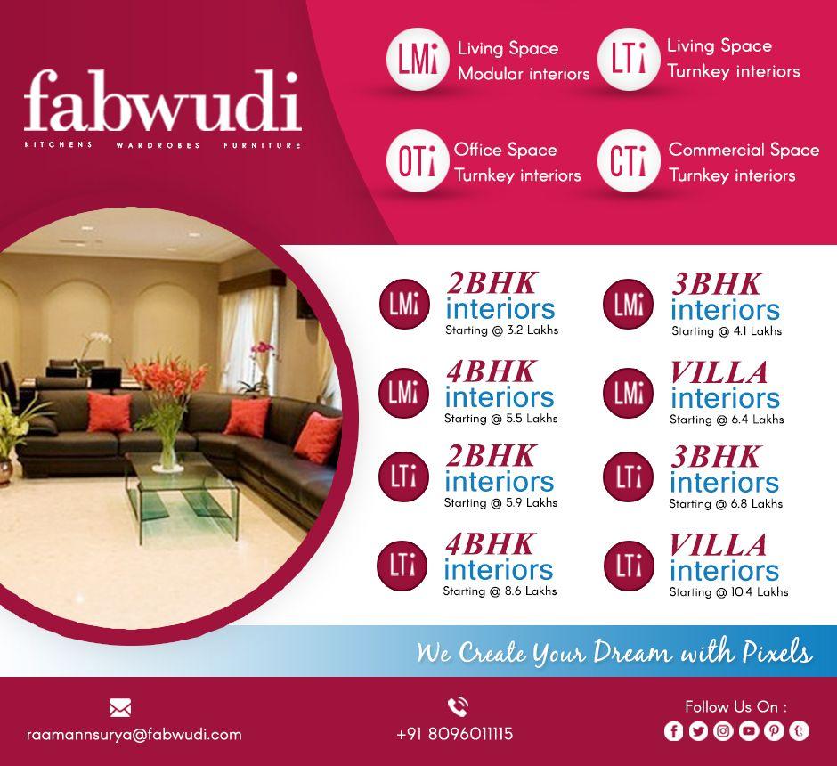 Fabwudi interior designs interiors home decor decaration hyderabad also rh pinterest