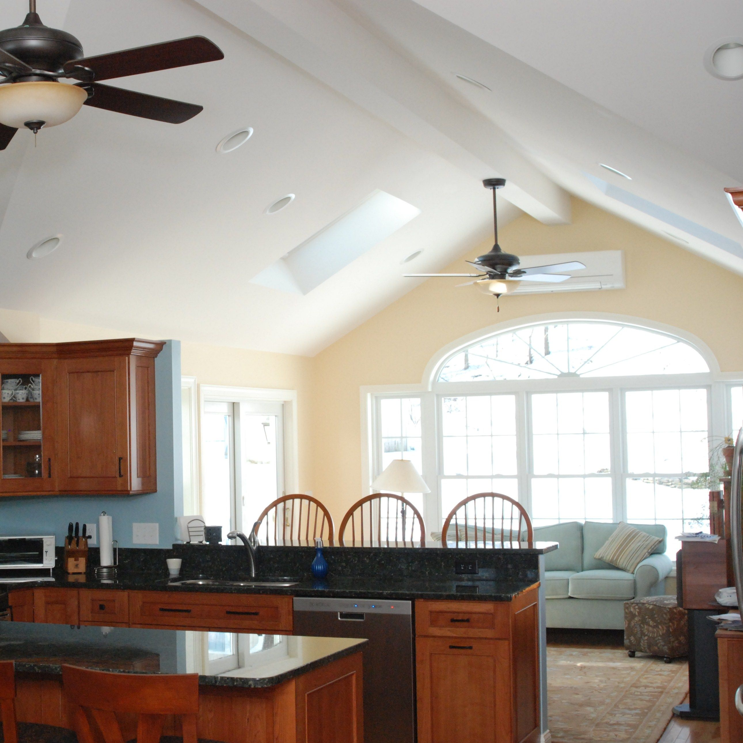 Family Room Additions: New Family Room Addition, And Remodeled Kitchen. See The