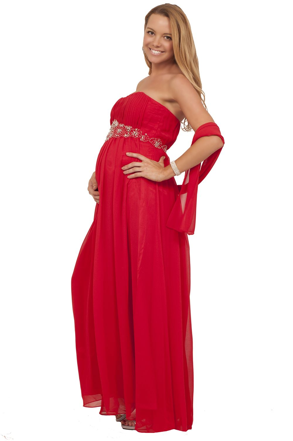 Maternity strapless shawl maxi elegant pregnancy long formal dress maternity strapless shawl maxi elegant pregnancy long formal dress ombrellifo Image collections