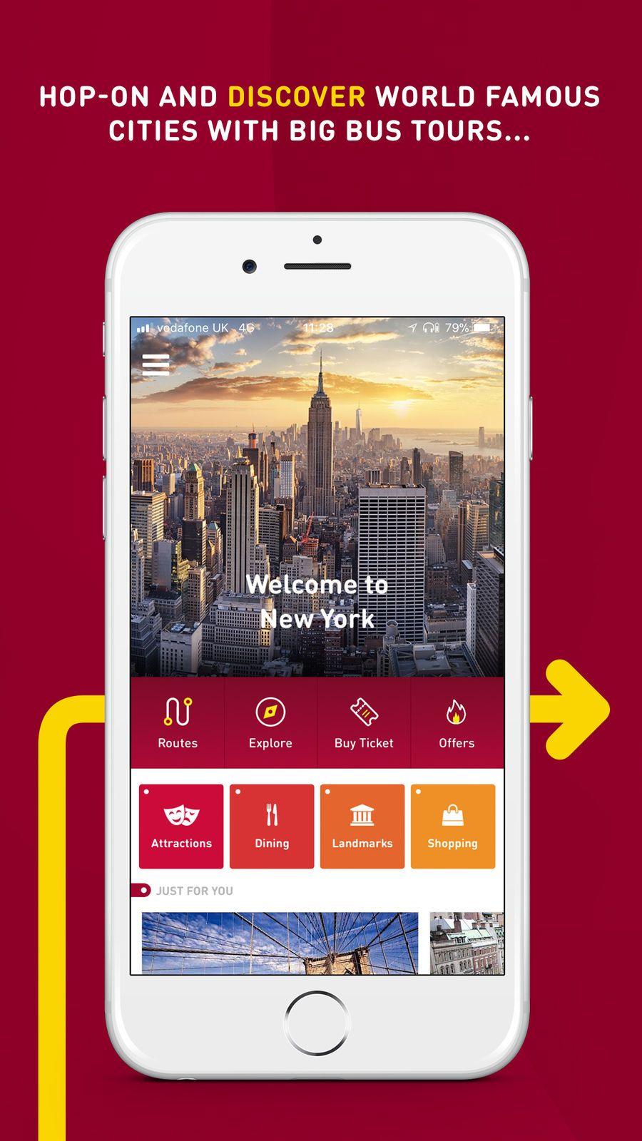 Big Bus Tours #ios#Navigation#app#apps | video game design